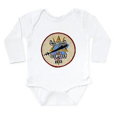 USS BARB Long Sleeve Infant Bodysuit