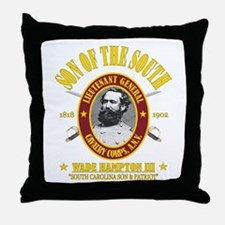 Wade Hampton (SOTS) Throw Pillow
