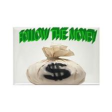 MONEY TALKS Rectangle Magnet (10 pack)