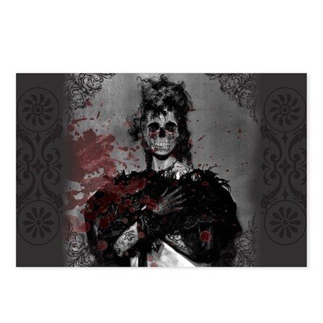 Zombie Postcards (Package of 8)