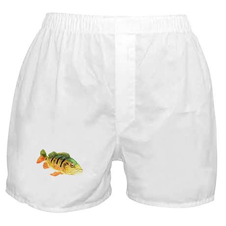 Peacock Bass Boxer Shorts
