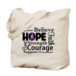 Pancreatic Cancer Hope Tote Bag