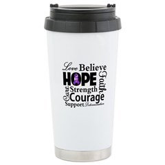 Pancreatic Cancer Hope Travel Mug