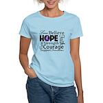 Pancreatic Cancer Hope Women's Light T-Shirt