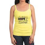Pancreatic Cancer Hope Jr. Spaghetti Tank