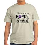 Pancreatic Cancer Hope Light T-Shirt