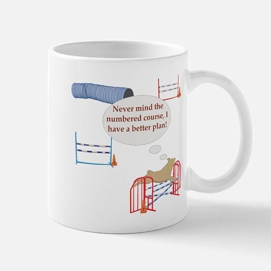 Numbered Course Mug