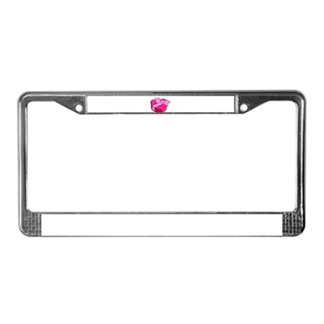 CANDY {2} License Plate Frame