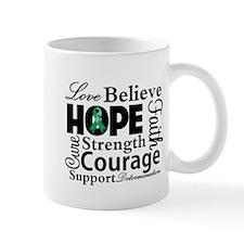 Liver Cancer Hope Collage Mug