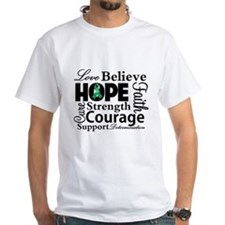 Liver Cancer Hope Collage Shirt