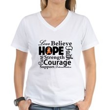 Leukemia Hope Collage Shirt