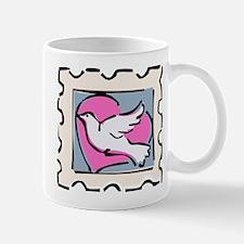 VALENTINE STAMP : DOVE Mug