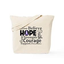 General Cancer Hope Tote Bag