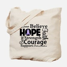 General Cancer Hope Tote Bag