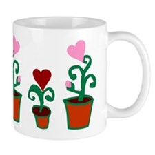 HEART FLOWER POT TRIO Mug