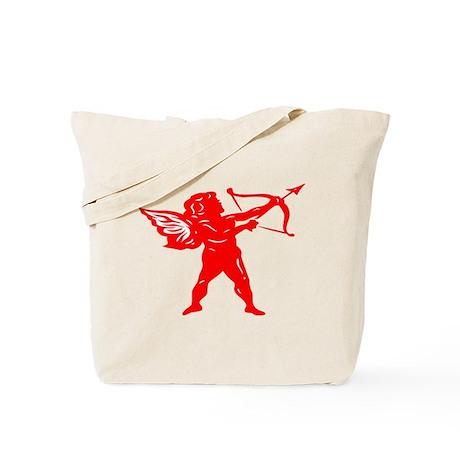 CUPID {12} : red Tote Bag