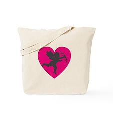 CUPID {13} : pink/gray Tote Bag