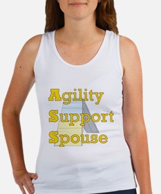 Agility Support Spouse Women's Tank Top