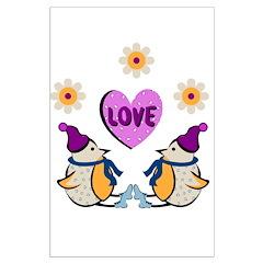 LOVE PENQUINS Posters