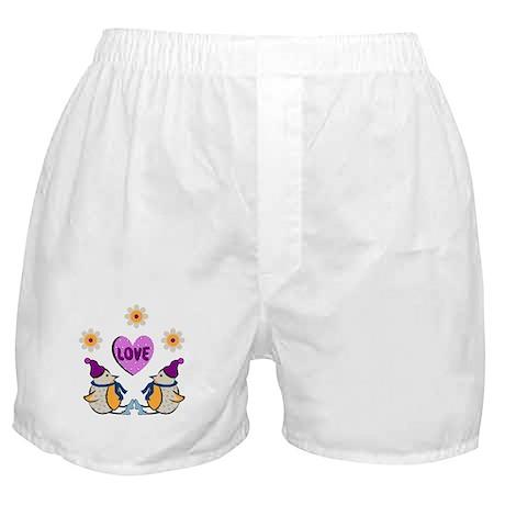 LOVE PENQUINS Boxer Shorts