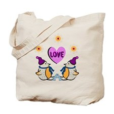 LOVE PENQUINS Tote Bag