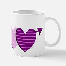 HEART & ARROW {9} : purple Mug