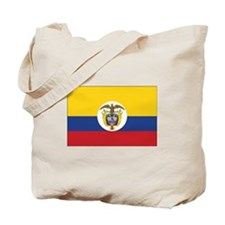Colombia Naval Ensign Tote Bag
