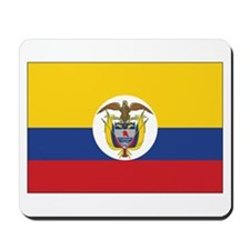 Colombia Naval Ensign Mousepad