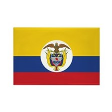 Colombia Naval Ensign Rectangle Magnet