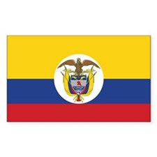Colombia Naval Ensign Decal