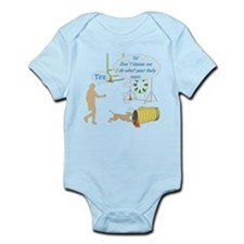 Do What Your Body Says Infant Bodysuit