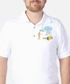 Do What Your Body Says Golf Shirt