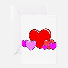 HEARTS {25} Greeting Card