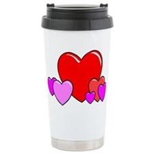 HEARTS {25} Travel Mug