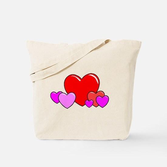 HEARTS {25} Tote Bag