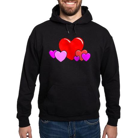 HEARTS {25} Hoodie (dark)