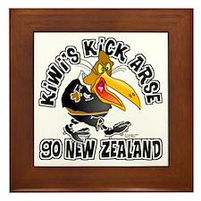Kiwi's Framed Tile