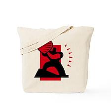 BE MY VALENTINE {2} : red/bla Tote Bag