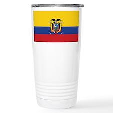 Ecuador Flag Travel Mug