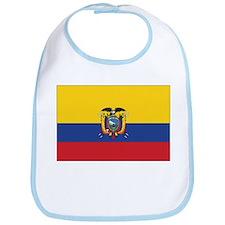 Ecuador Naval Ensign Bib