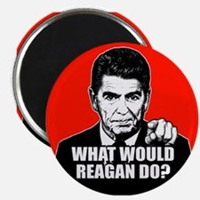 """WWReaganD? 2.25"""" Magnet (10 pack)"""
