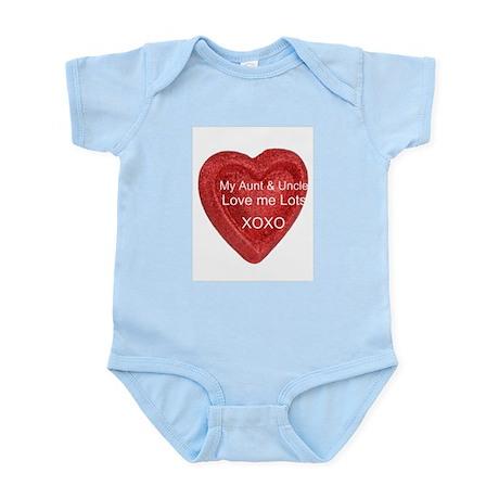 My Aunt & Uncle Love Me Infant Bodysuit