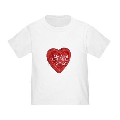 My Aunt Loves Me Toddler T-Shirt