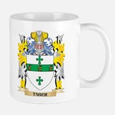 Taber Family Crest - Coat of Arms Mugs
