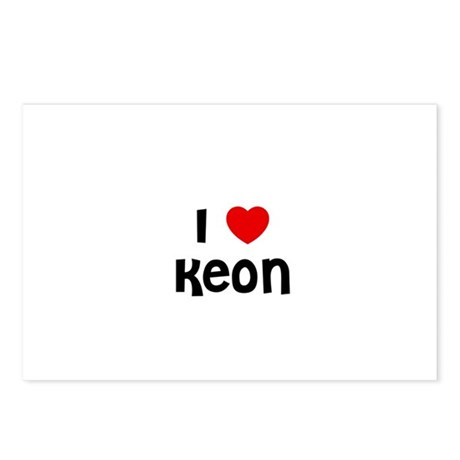 I * Keon Postcards (Package of 8)