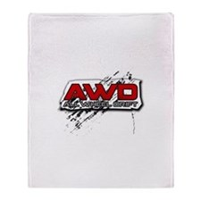 All Wheel Drift Throw Blanket