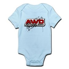 All Wheel Drift Infant Bodysuit