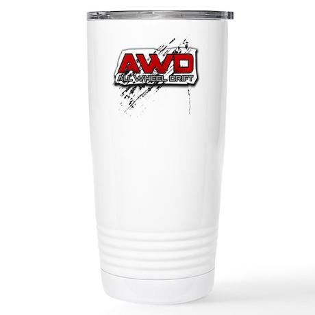 All Wheel Drift Stainless Steel Travel Mug