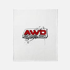 All Wheel Drift Throw Blanket