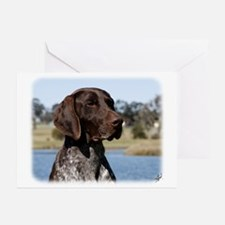 German Shorthaired Pointer 9Y832D-027 Greeting Car